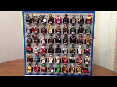 –Minifigure Display–  Pick A Brick Pieces used: Flat Tile 1×8 – Bright Blue – …