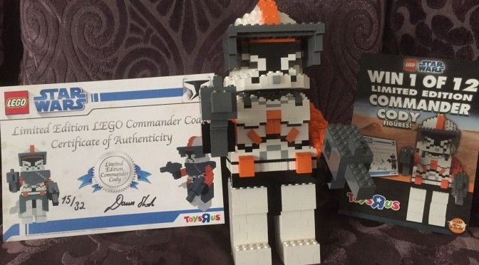 Exclusive Limited Edition Commander Cody Maxi Figure from 2008 Toys R Us – Onl…