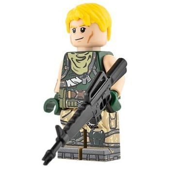Custom Design Mini Figure – Fortnite Jonesy | Minifigures.com | Custom Design Mi…