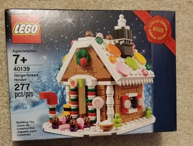 LEGO 40139 Holiday Gingerbread House. Limited Edition, New