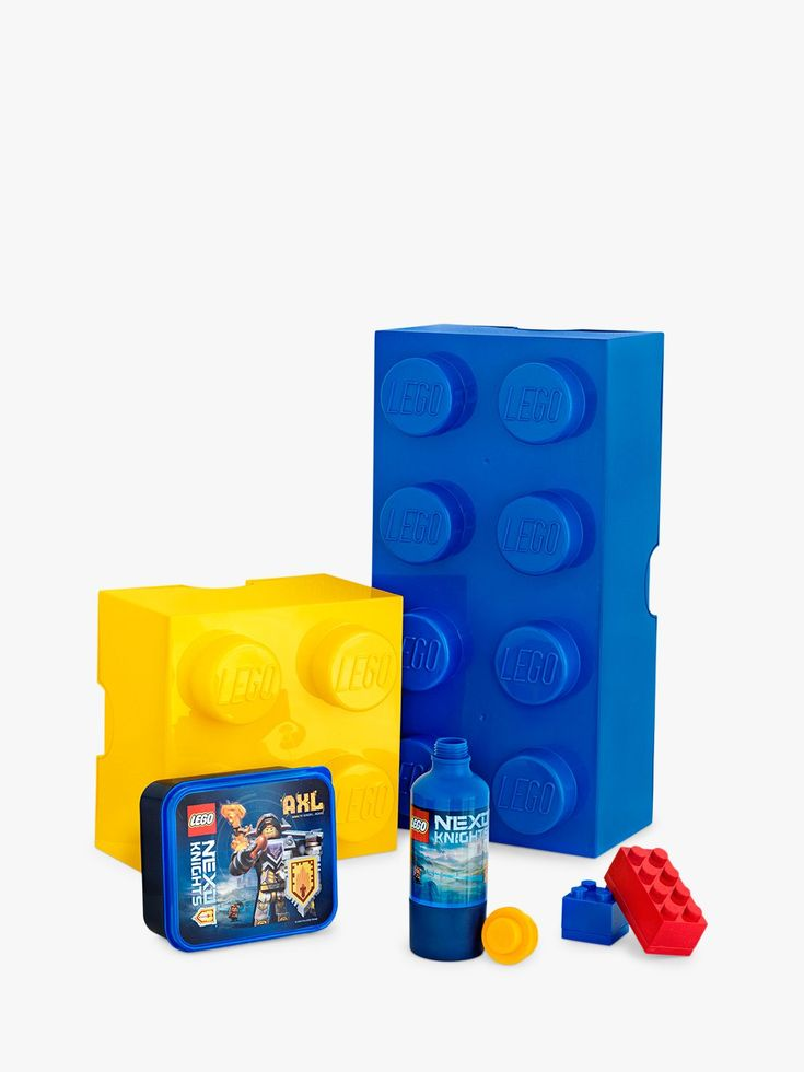 LEGO 4 Stud Storage Brick Plastic Box