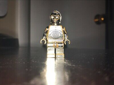 LEGO Star Wars Chrome Gold C-3PO 4521221 1 OF, 10,000 LIMITED EDITION