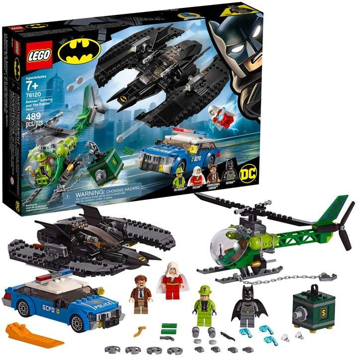 Lego Super Heroes Batman, Batwing and The Riddler Heist Set 76120