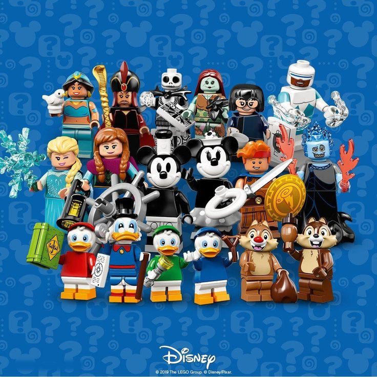 Disney Lego Mini Figures – Series 2