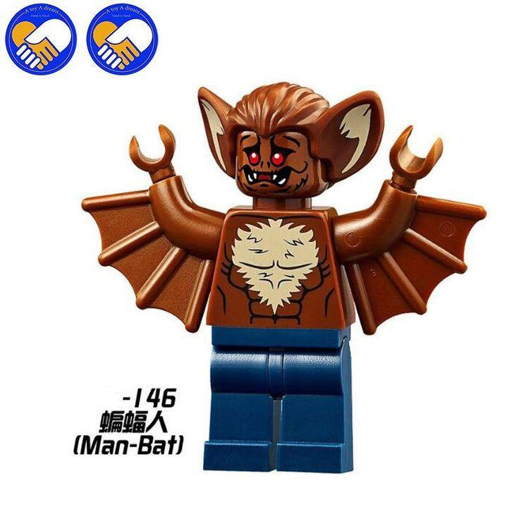The Batman Movie Series Arkham Asylum Lego Minifigures Compatible Toys 70912