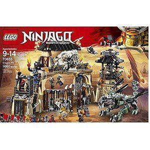 レゴLEGO 2018 NEW NINJAGO The Dragon Pit 70655