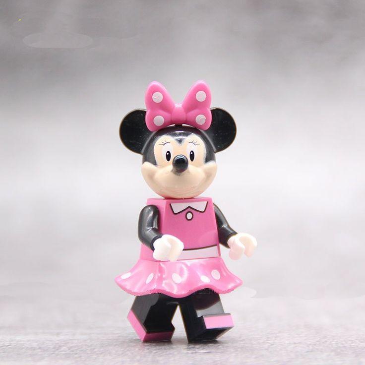 Minnie Mouse Minifigures Compatible Lego Comic sets