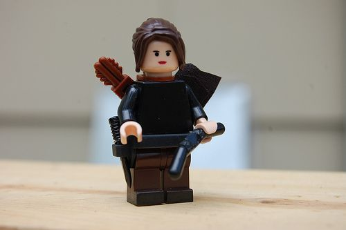 Katniss Everdeen Hunger Games Custom Minifigure