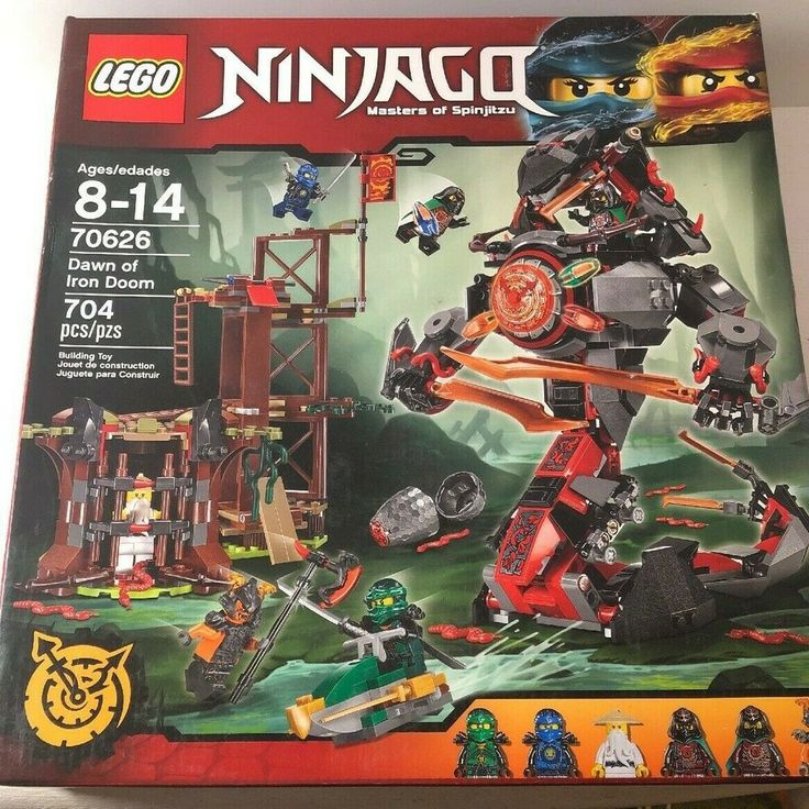 Lego Ninjago 70626 Dawn of the Iron Doom Brand new factory sealed box Retired