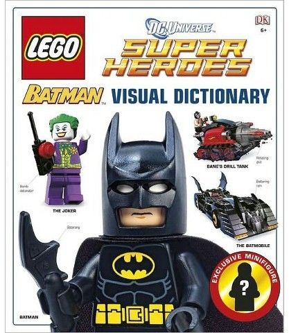 LEGO Batman: The Visual Dictionary (Hardcover) by Daniel Lipkowitz