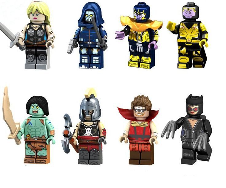 Super Heroes Minifigures Marvel Avenger Lego Minifigures Compatible Toys