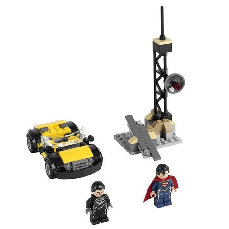 Decool Marvel Superman General Zod DC Super Hero Minifigure For Lego