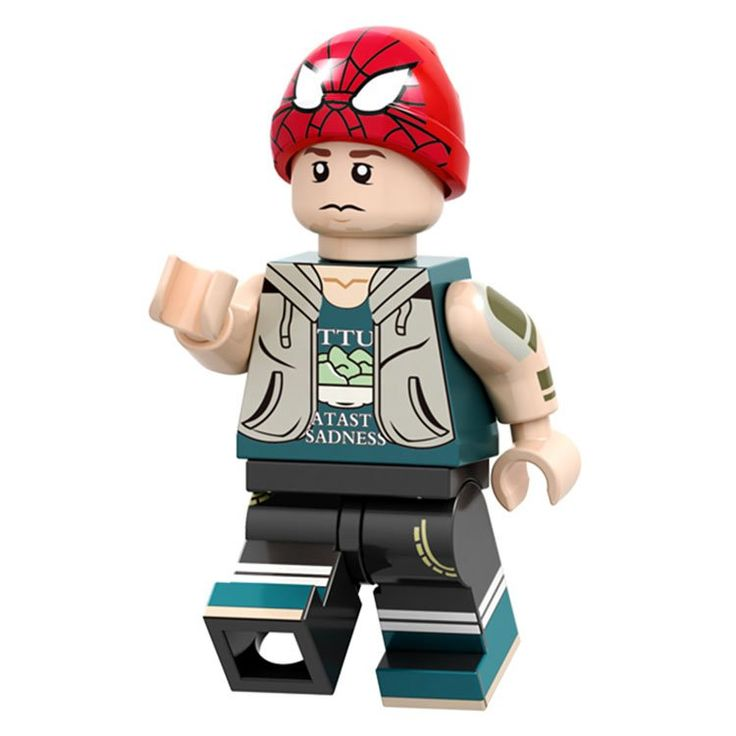 Spider-Man Peter Parker Minifigures Avenger Superhero Lego Compatible Toy