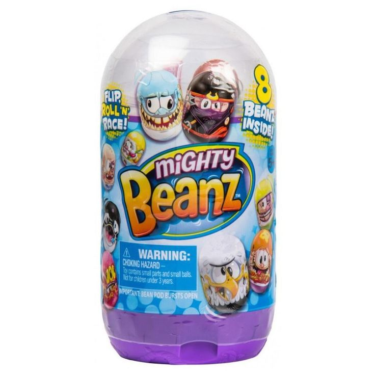 Mighty Beanz Bean Pod Slam Pack Mystery 8-Pack