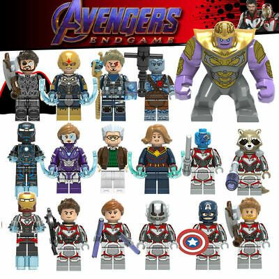 Details about New AVENGERS 4 Endgame Minifigures MARVEL Minifigure Mini Figure Super Hero