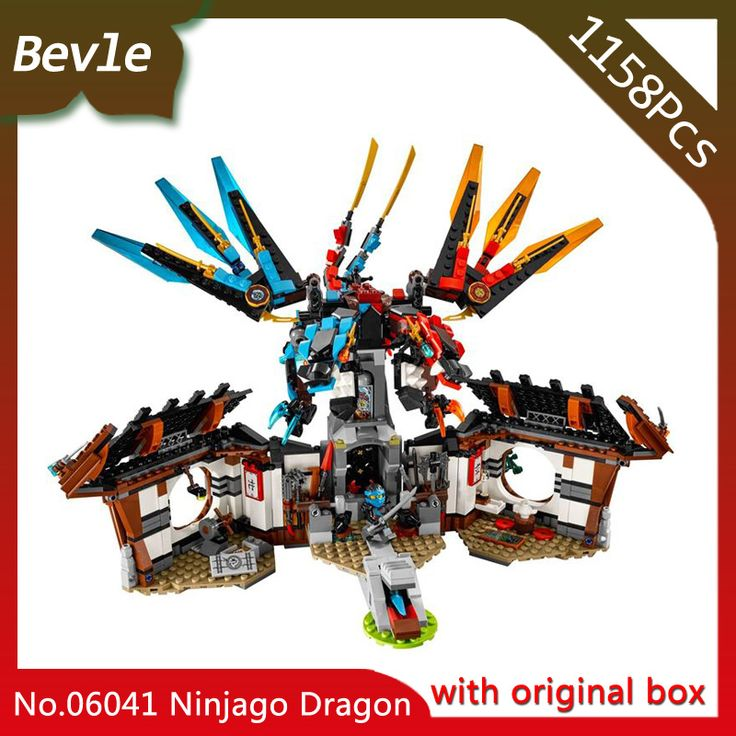 Bevle Store Bevle SLEPIN 06041 1158Pcs with original box Ninja series dragon sec…