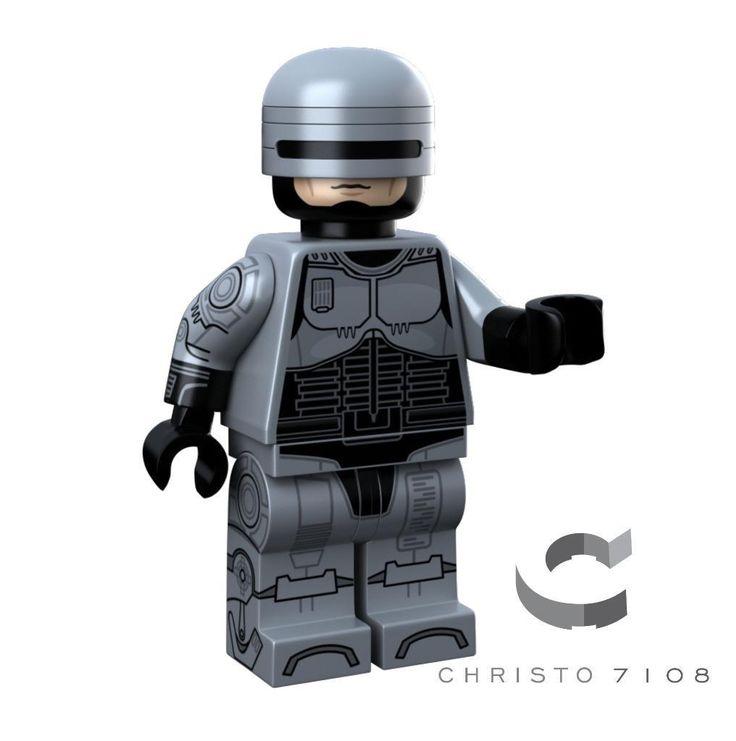 Details about LEGO Custom UV Printed Classic Black Lightning Minifigure Minifig