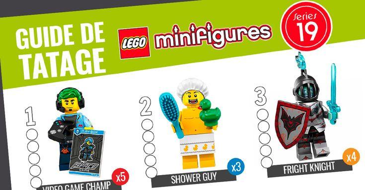 LEGO 71025 Collectible Minifigures Series 19 : le guide de tâtage