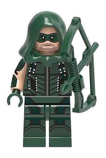 Green Arrow Custom Minifigure CW DC Universe Building Blocks Fits Lego