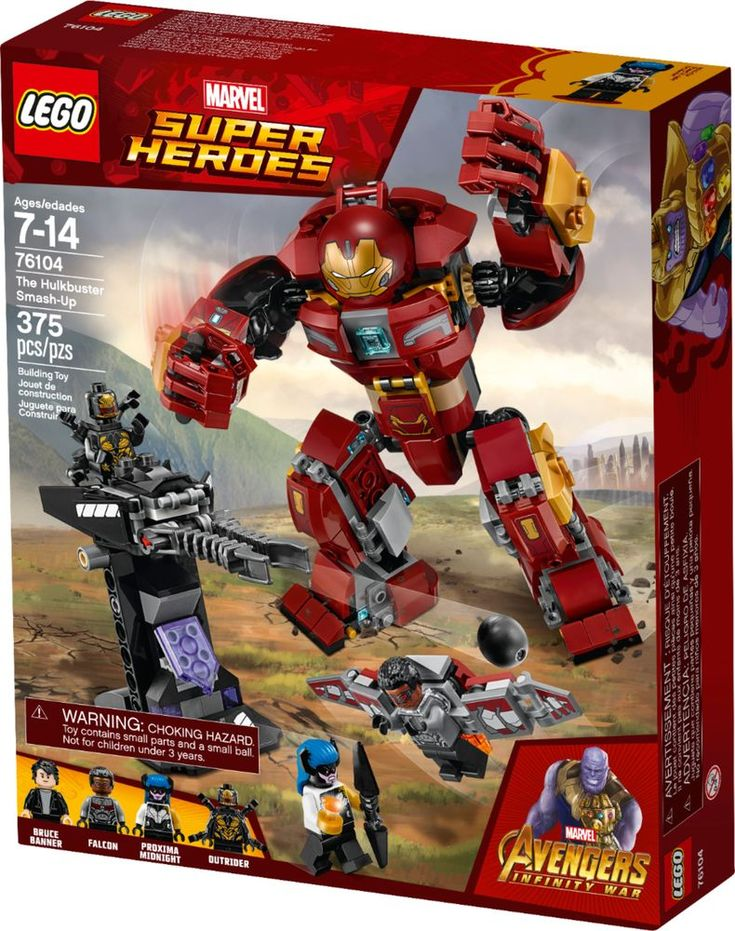 LEGO – Marvel Super Heroes The Hulkbuster Smash-Up 76104