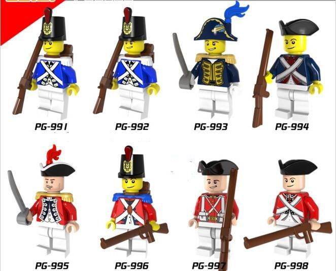 Pirates of the Caribbean  Imperial Royal Guards  Minifigures Lego Compatible Toys