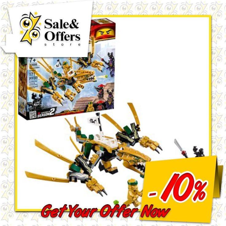 LEGO Ninjago The Golden Dragon Building Set 70666 (171 Pieces)  Recreate the epi…