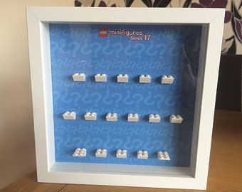 Handmade Display case for LEGO minifigure SERIES