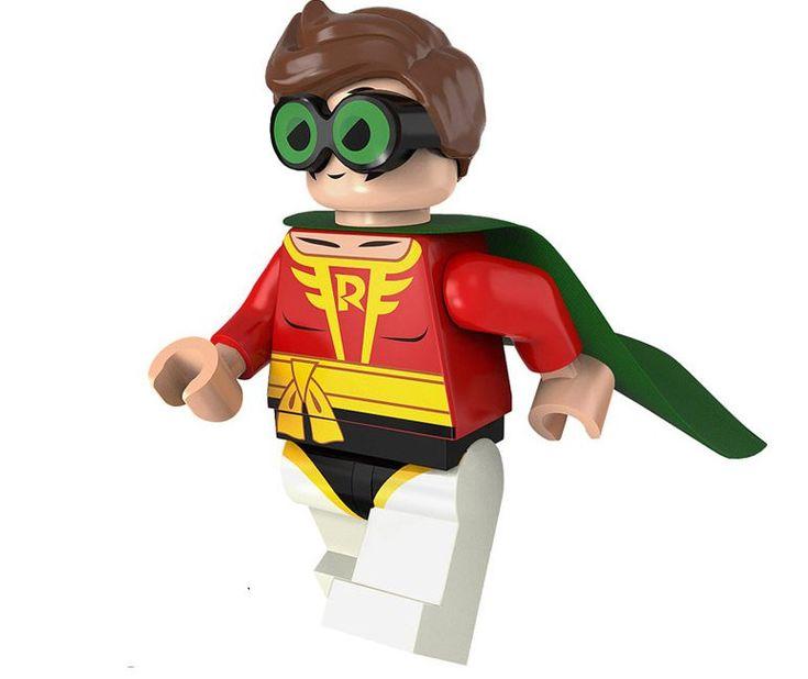 Batman Robin Minifigures Compatible Lego Toy Batman movie Minifigure    It is fu…