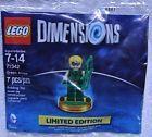 Lego Dimensions 71342 Green Arrow Minifigure – Brand New in Polybag- Rare
