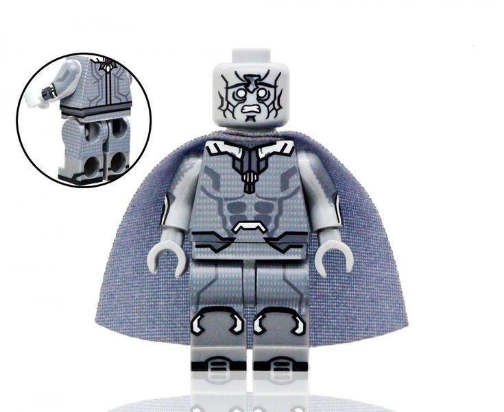 Death Vision Minifigures Compatible Lego Toy Avengers Super Hero Minifigure