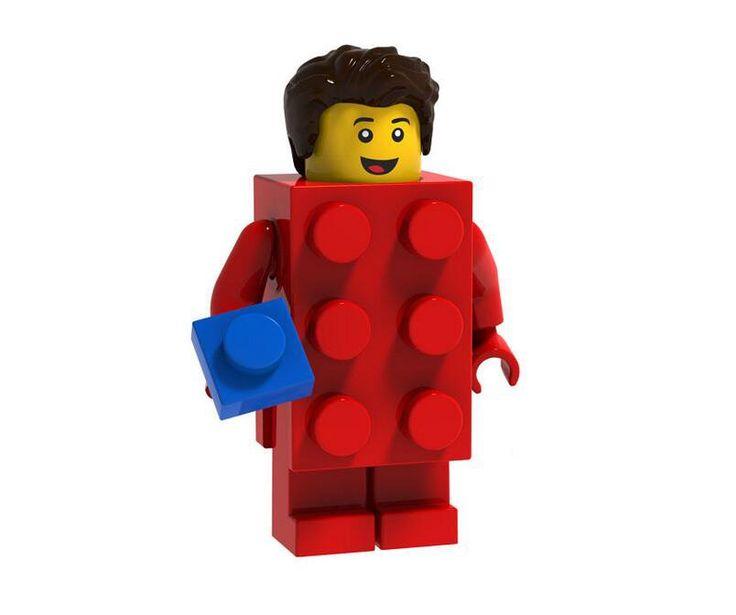 Brick Suit Guy Minifigures Compatible Lego Minifigures Series 18