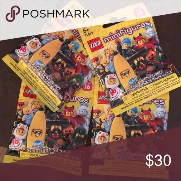 LEGO Series 16 mini figures 4 Random 4 Random never opened series 16 lego minifi…