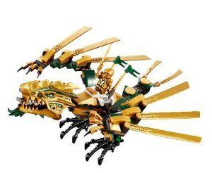LEGO Ninjago Golden Dragon ONLY Sold Loose NO MINIFIGURES by LEGO. $13.95. NO MI…