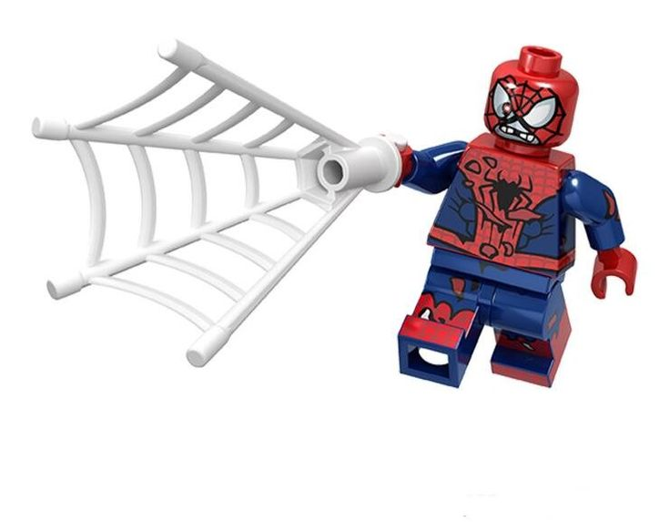 Zombie Spiderman Lego Minifigures Compatible Super Heroes Toy