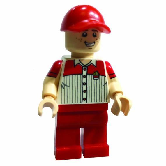 Fry Guy Custom LEGO Minifigure LIMITED EDITION