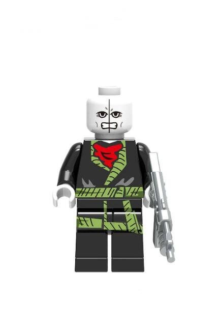 Chameleon Super Heroes Lego Minifigures Compatible Toy