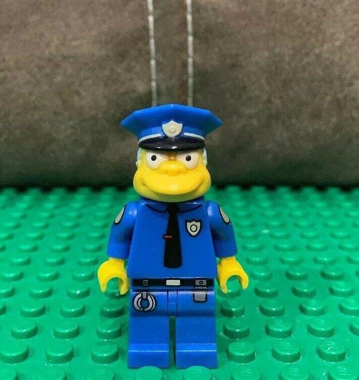 Lego Simpsons Minifigures – Series 1 – Chief Wiggum – Lego mini figure