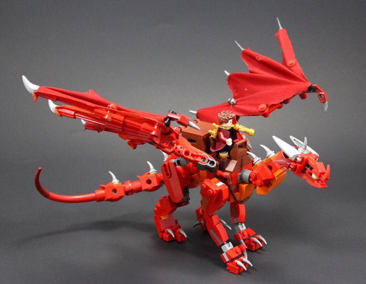 Drakkirion Courier Dragon