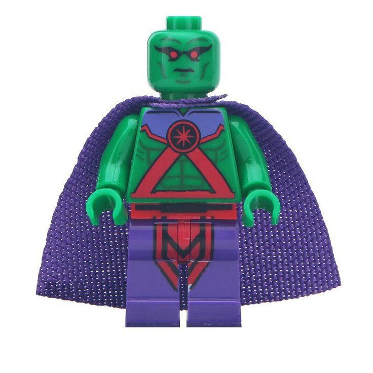 Minifigure Martian Manhunter DC Comics Super Heroes Compatible Lego Building Blocks Toys