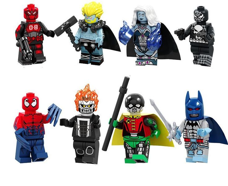 Mr.8 Thor Carnage Super Heroes Minifigures Lego Compatible DC movie Toy