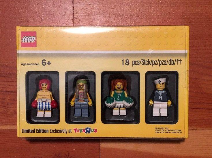 Lego Bricktober 2017 4/4 Collectible Toys R Us Exclusive Minifigures 55004941