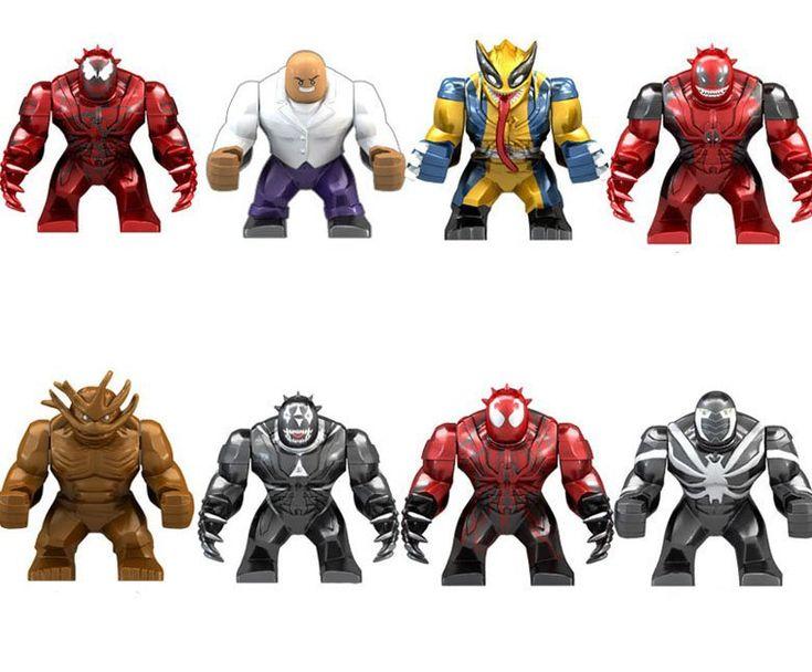 Marvel movie Super Heroes Minifigures Compatible Lego Minifigures building block Toy