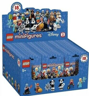 Details about LEGO Minifigures Disney Series 2 Limited Edition Assorted 60 Pack – Model 71024