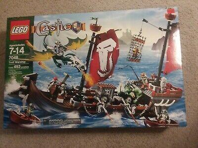 LEGO Castle 7048 -Troll Warship – New in Sealed Box