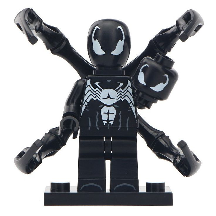Minifigure Venom Marvel Super Heroes Compatible Lego Building Block Toys