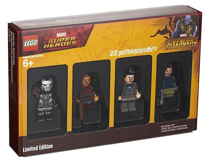 LEGO 5005256 BRICKTOBER 2018 MARVEL SUPER HEROES MINIFIGURES MISB SEALED NEW