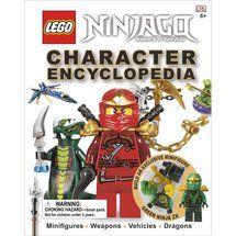 Walmart: Lego Ninjago: Character Encyclopedia [With Minifigure]