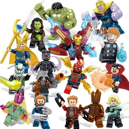 $25 Marvel Super Heroes Avengers 3 Infinity War Action Figure LEGO COMPATIBLE SE…