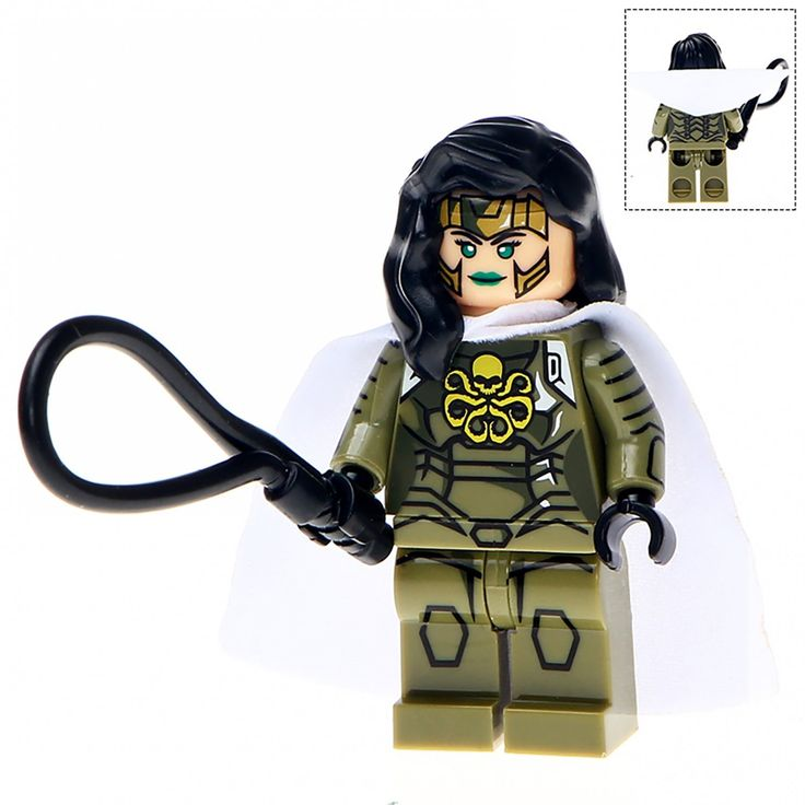 Minifigure Madame Hydra Marvel Super Heroes Compatible Lego Building Block Toys