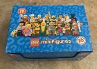 Lego Minifigures Series 17 SEALED Lot Of 35 Blind Bags And Case